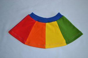 sewing pattern, naaipatroon, pdf patroon, vrolijk rokje, cirkelrok, halve cirkelrok, naaien met restjes, tricot