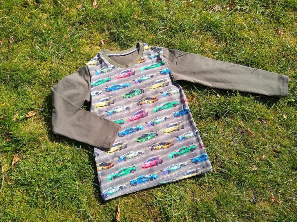 longsleeve, cars, sewing, naaien, shirt, auto's, kleider nähen